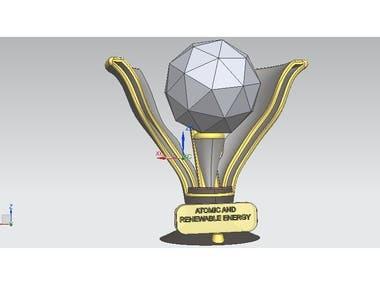 3D Trophy design