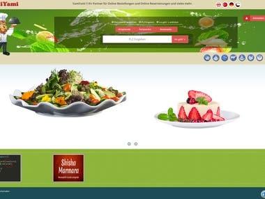 Restaurant service site