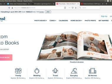 Mix books website