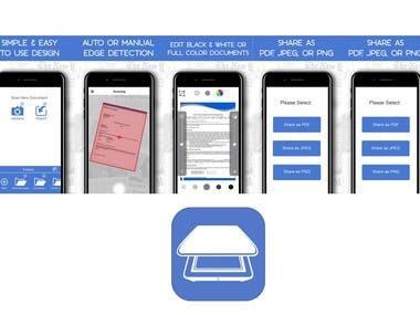 Document & Receipt Scanner Application