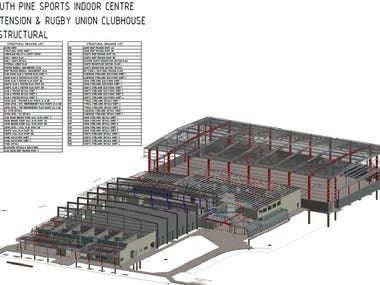 Steel Structure Estimation project in Australia