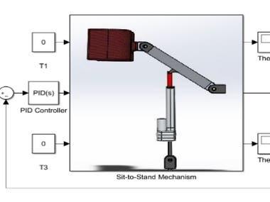 Control Algorithm design for Robots