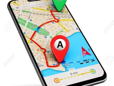 Geolocation Tracking for the place searching