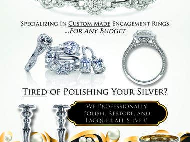 Full Page Ad - Jewelry and Silver Engravers