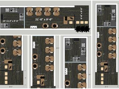 Restaurant Design Concept & Layout