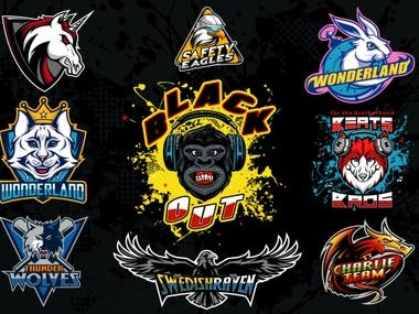 Mascot/Cartoon logos