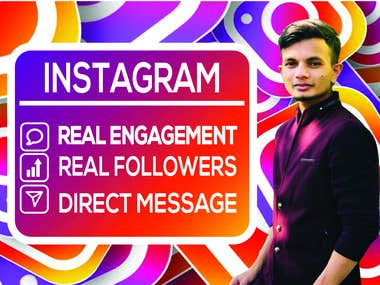 INSTAGRAM GROW REAL FOLLOWERS / ENGAGEMENT
