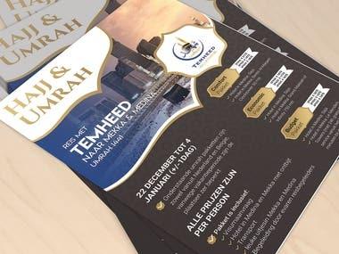 Flyer Design for Umrah