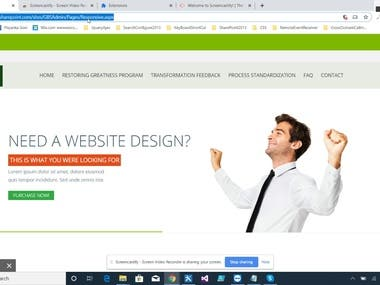Responsive SharePoint Online WebSite