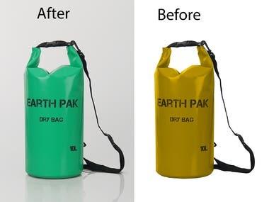Product colour changes