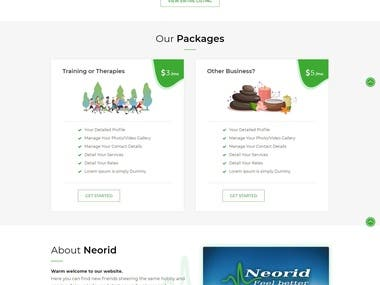 https://www.neorid.com/ - Wordpress
