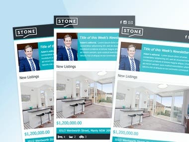 Stone Real Estate - Email Template