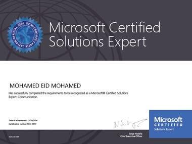 Microsoft communication