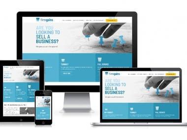 Firmgains Website