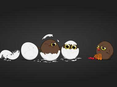 The Prodigy! Hatching Owl chicks
