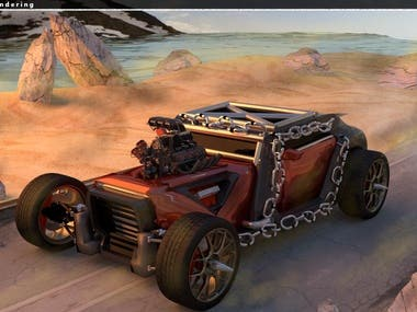Mad Moose (Realistic Car Rendering)