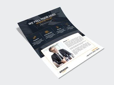 Unique Flyer Design for your company