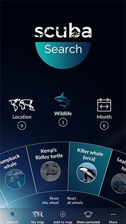 iOS App - Scuba Calender