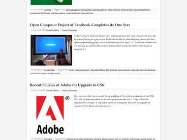 Technology Blog
