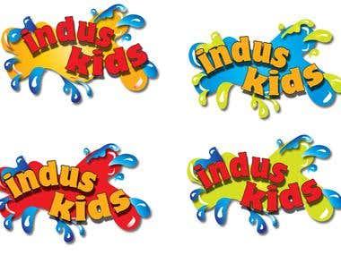 The logo of Indus Kid program