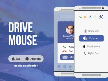 Drive Mouse App for Safe Driving