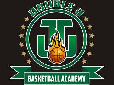 Logo - Double J Basketball Academy