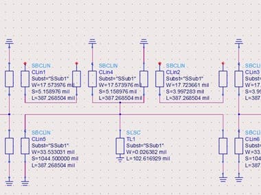 Designing Broadband 5th order Elliptic-BPF based on Richards