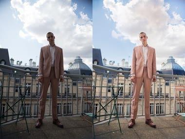 Mendo Suits - Photo Editing