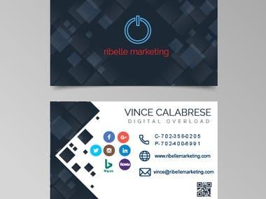Business card designed