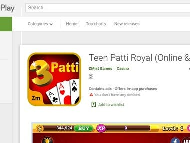 Royal Teen Pati Application