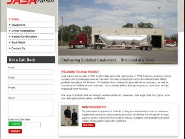 Transportaion Website.
