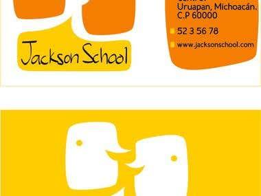 Jackson School rediseño de logo / Logo design