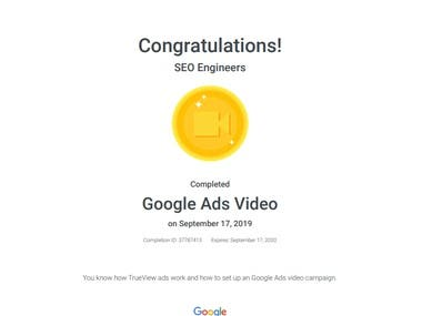 Video Ad Certification