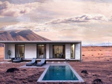 Saudi Style Desert