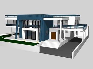 Exterior House 3dModel
