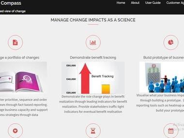Change Management Software's Website Creation