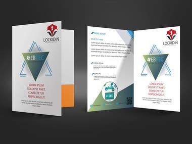 Marketing Folder design