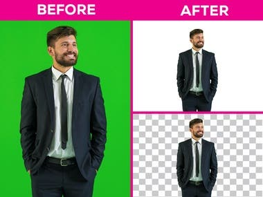 GREEN BACKGROUND REMOVE