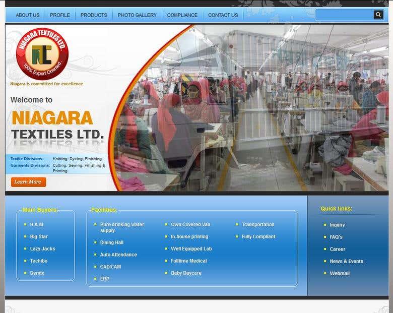 NIAGARA Textiles Ltd  | Freelancer