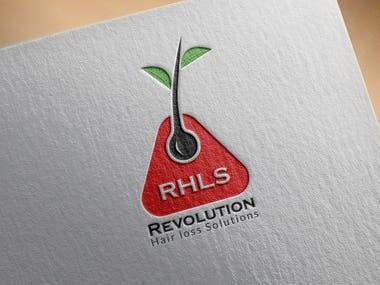 Hair Replacement Logo Design