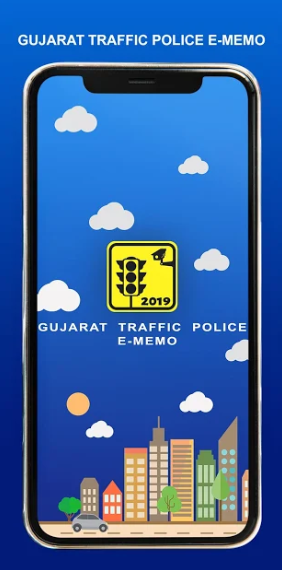 Gujarat Traffic Police E-Memo Application