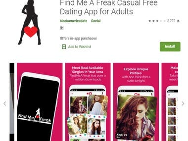 Dating App: https://play.google.com/store/apps/details?id=co