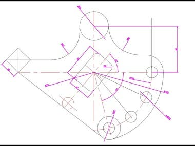 Mechanical Part Drawing