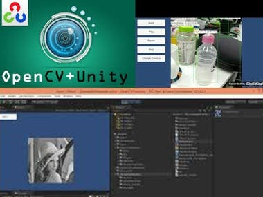 Unity+Opecv for Object Detection/human