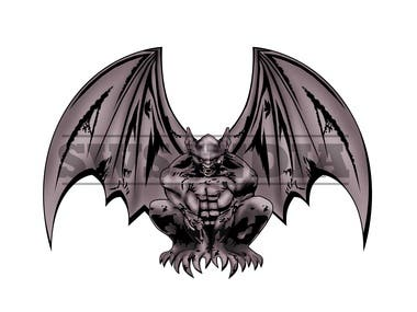 Gargoyle Illustration