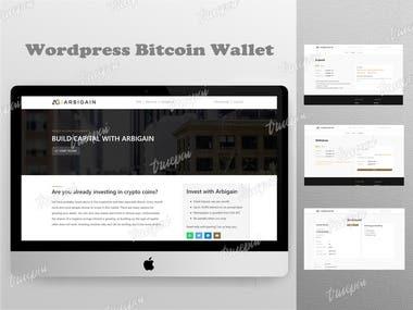 Wordpress Bitcoin Wallet