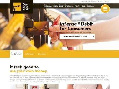 Bitcoin & Wallet Website.