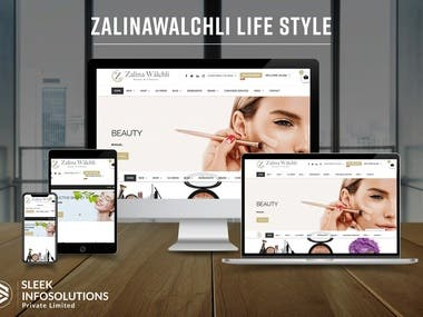 Beauty & Care eCommerce and Service booking website