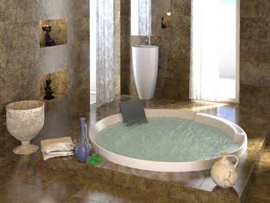 Bath room designing