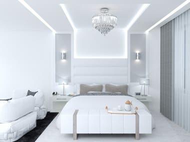 Bed room designing
